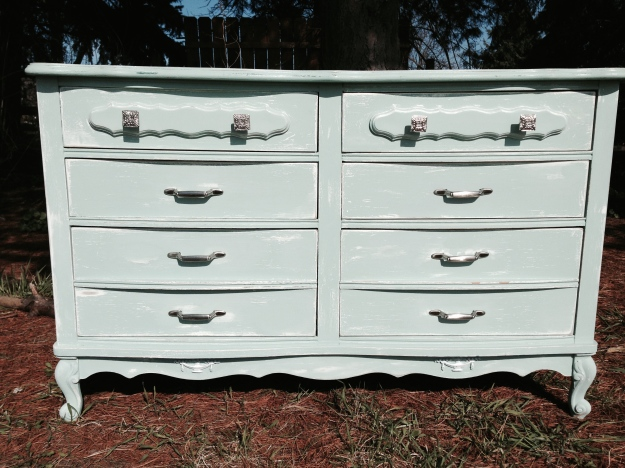 Ka'bloom's display dresser they purchased from me!