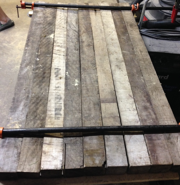 reclaimed, reused, and recycled wood projects